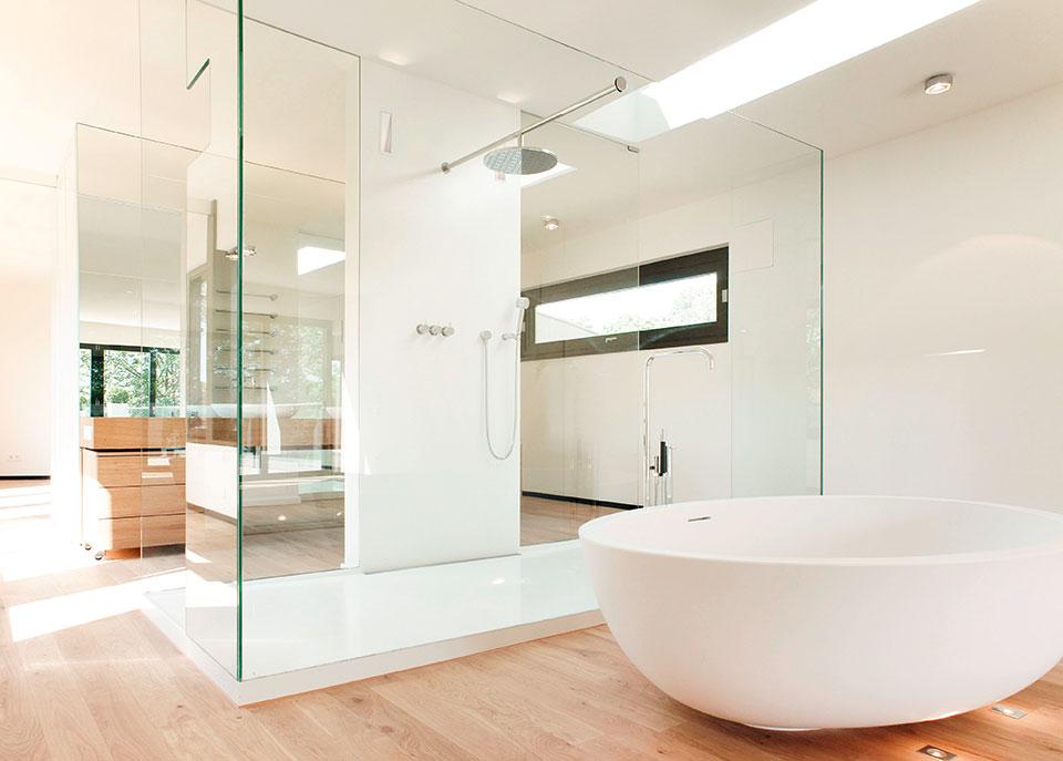 S&E Glasdesign Walk-In-Lösung